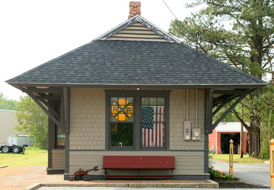 The Hebron Train Depot